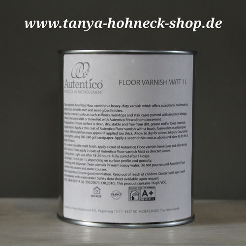 FLOOR VARNISH Autentico Fußbodenlack