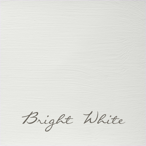 BRIGHT WHITE Autentico VINTAGE chalk paint Kreidefarbe