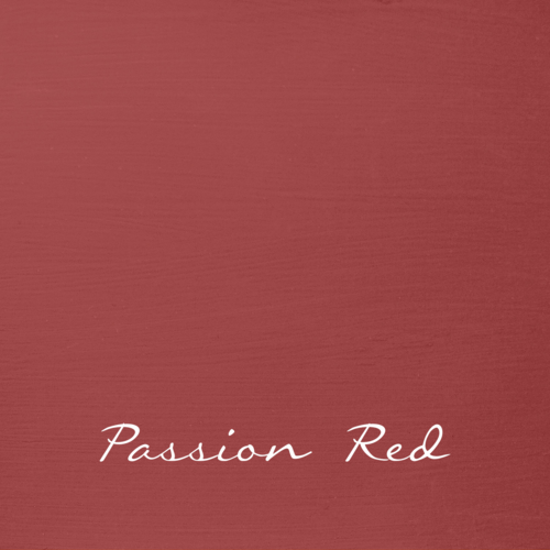 PASSION RED Autentico VINTAGE chalk paint Kreidefarbe Rot