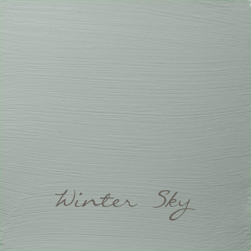 WINTER SKY Autentico VINTAGE chalk paint Kreidefarbe