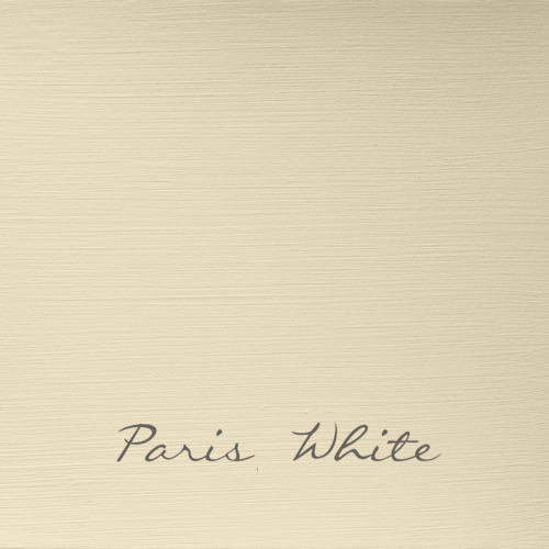 PARIS WHITE Autentico VINTAGE chalk paint Kreidefarbe
