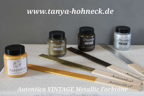 METALLIC Autentico VINTAGE chalk paint