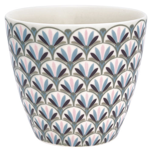'Victoria white' Latte cup by GREENGATE Kaffeebecher