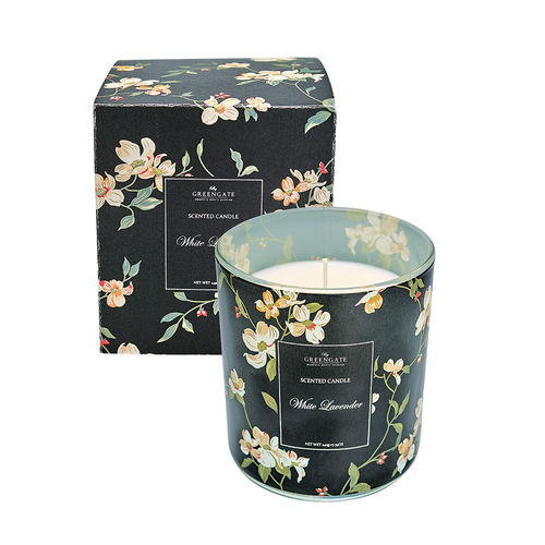 'Jolie black' Duft Kerze by GREENGATE scented candle 120g