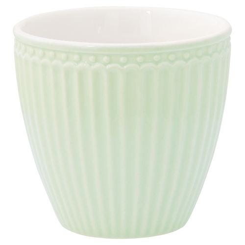 'Alice pale green' Latte cup by GREENGATE Kaffeebecher Everyday