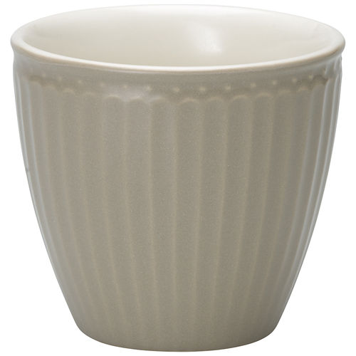 'Alice warm grey' Latte cup GREENGATE Kaffeebecher Everyday grau