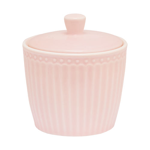 'Alice pale pink' Zuckerdose by GREENGATE Sugar pot Everyday rosa