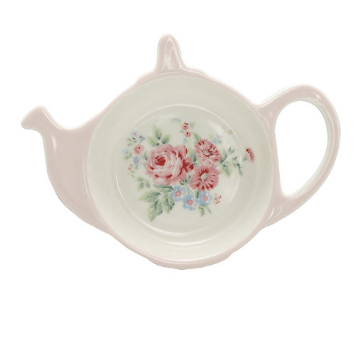 'Marley pale pink' Teebeutel Teller tea bag holder GREENGATE rosa