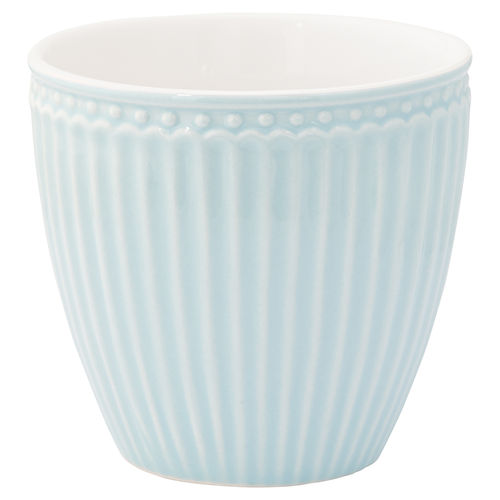 'Alice pale blue' Latte cup by GREENGATE Kaffeebecher Everyday