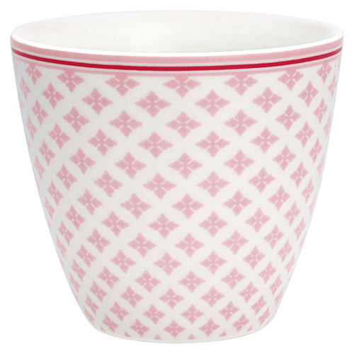 'Sasha pale pink' Latte cup by GREENGATE Kaffeebecher