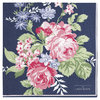 'Rose dark blue' Servietten by GREENGATE 20 Stück Papier