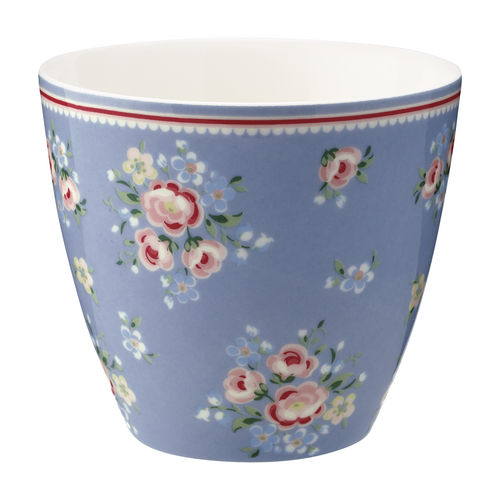 'Nicoline dusty blue' Latte cup by GREENGATE Kaffeebecher