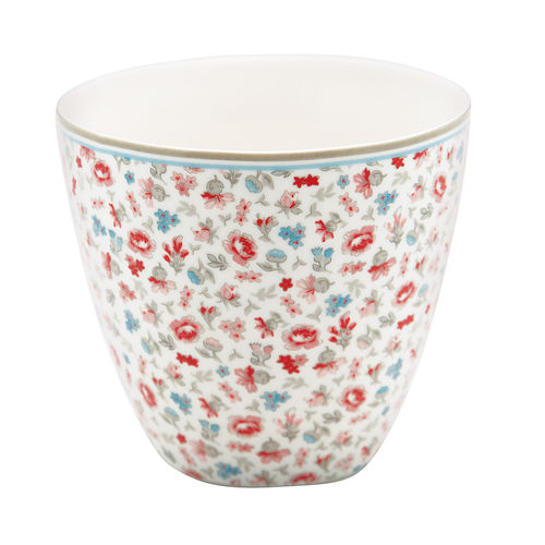 'Tilly white' LIMITED EDITION!!! Latte cup by GREENGATE anniversary Kaffeebecher