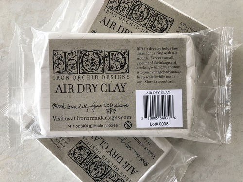 IOD AIR DRY CLAY Modellier Papier Ton lufttrocknend extra soft!