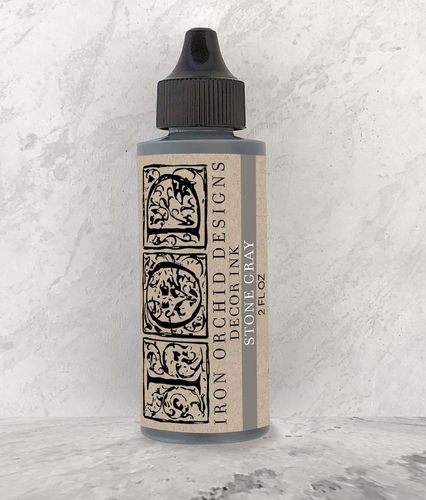 IOD Decor Ink Stone Grey Stempelfarbe Grau DEC-INK-STO, 60ml