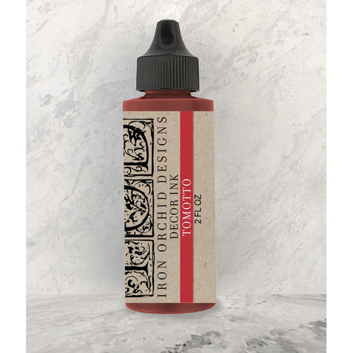 IOD Decor Ink Tomotto Red Stempelfarbe Rot DEC-INK-TOM, 60ml