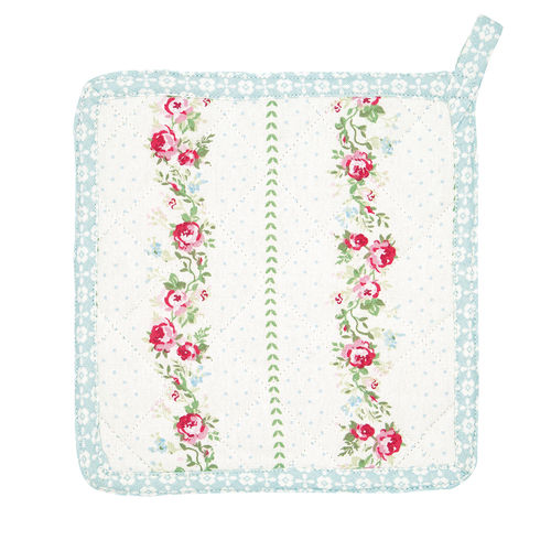 'Gabby white' Topflappen by GREENGATE Set 2 Stück 'pot holder'