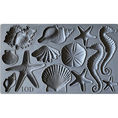IOD Silikonform 'SEA SHELLS' Decor Mould DEC-MOU-SEH