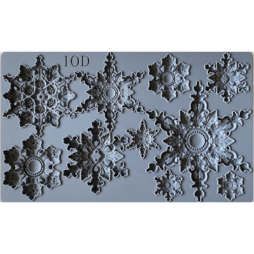 IOD Silikonform 'SNOWFLAKES' Decor Mould DEC-MOU-SNO